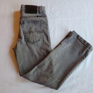 Lucky Brand classic straight gray denim sz 8